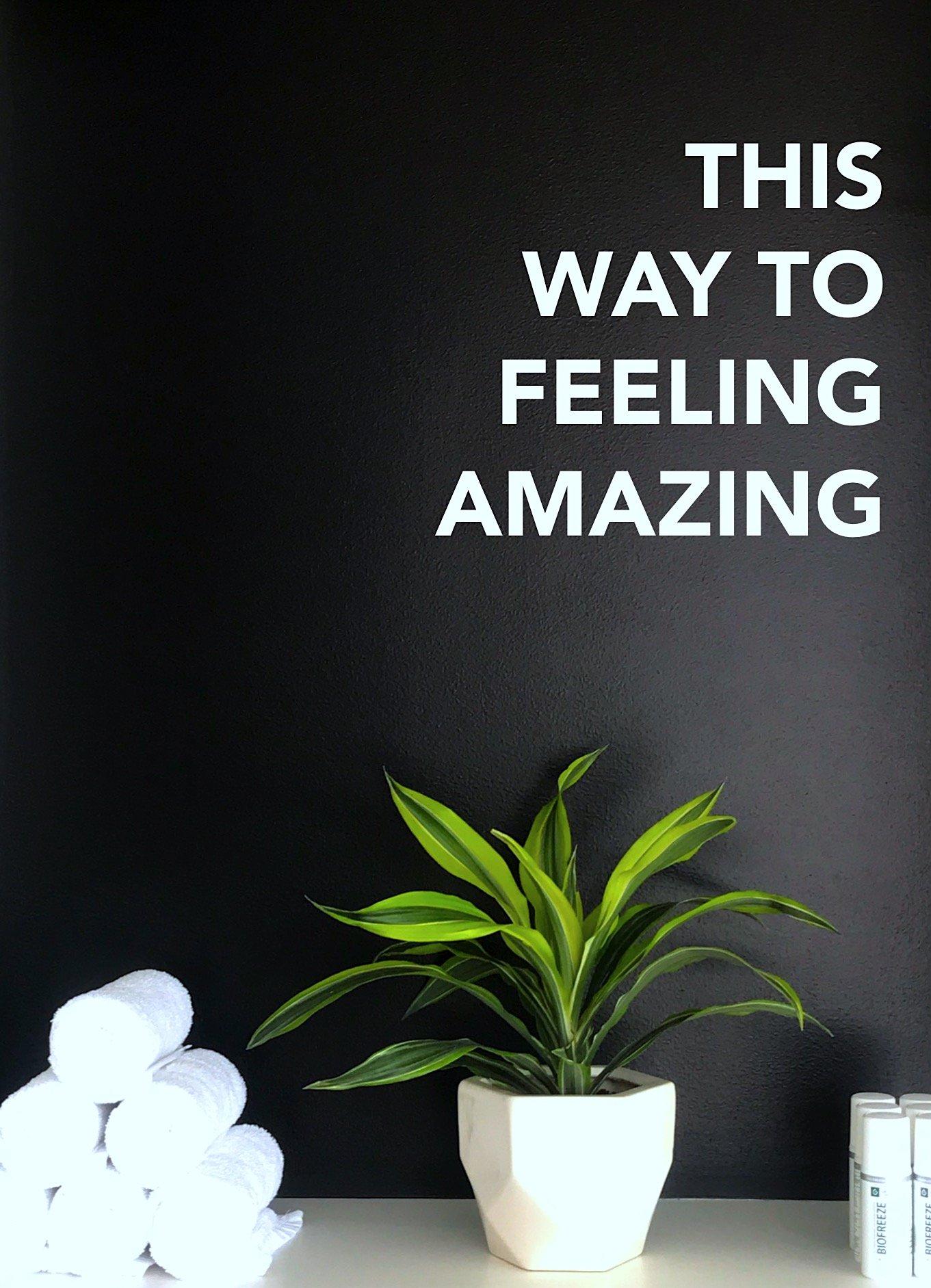 feeling amazing