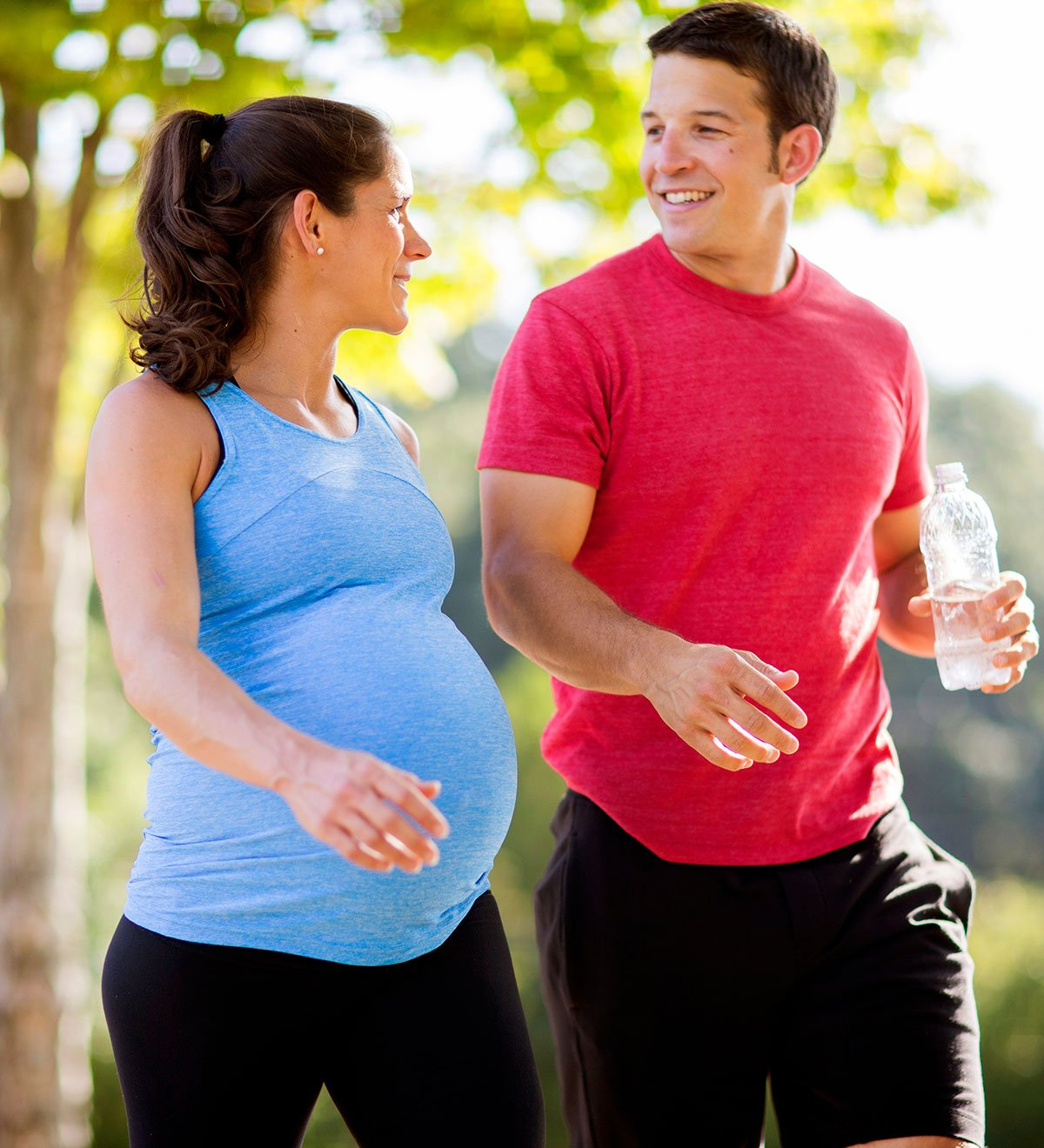 stretches for pregnant women