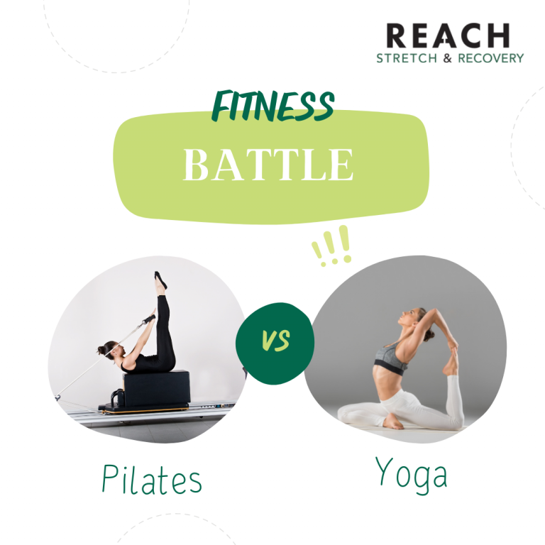 Pilates vs. Yoga - How Stretch & Recovery Therapy compares to and compliments these well known practices. - Reach Stretch & Recovery