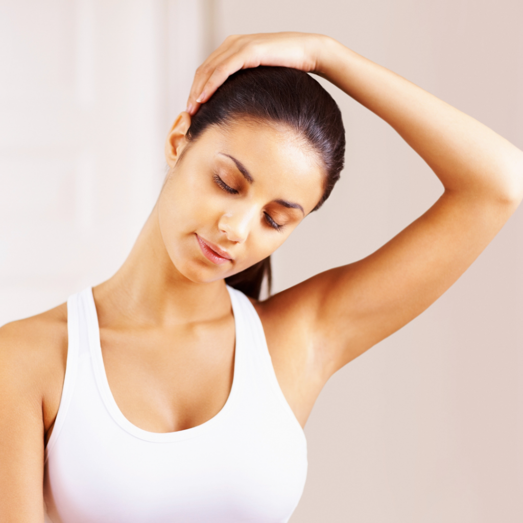 Neck Stretches - Neck Tilts - Reach Stretch & Recovery