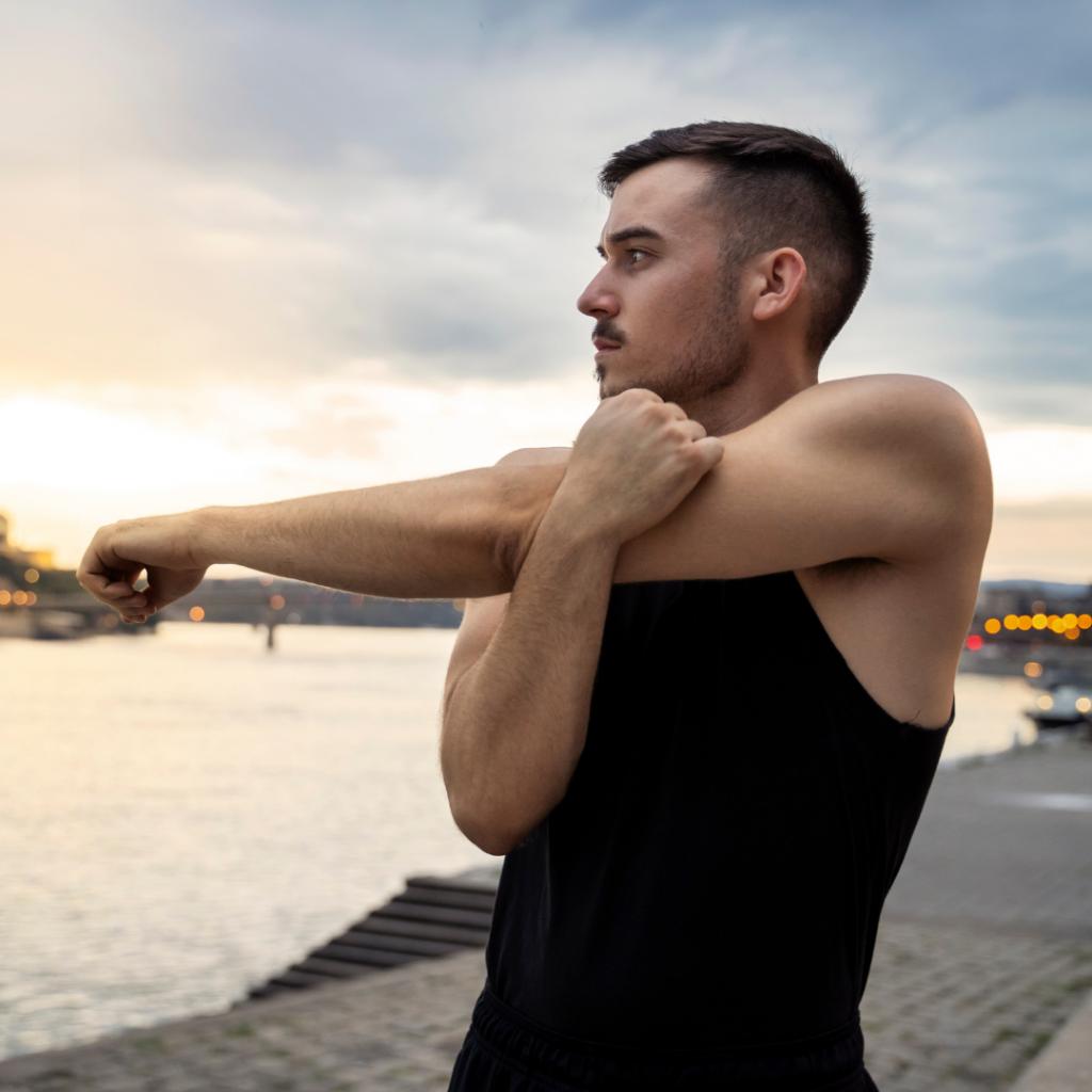 Shoulder Stretch - Reach Stretch & Recovery
